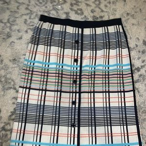 Tory Burch Midi Knit Skirt